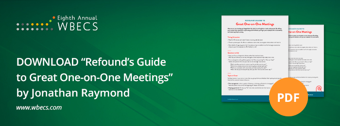 One on One Meeting Guide