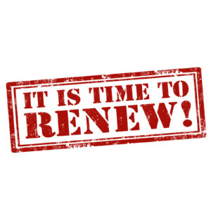 its time to renew your ICF credential