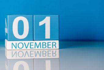 November First Calendar