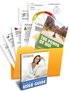 Cathy Recommends: Balance and Selfcare Toolkit
