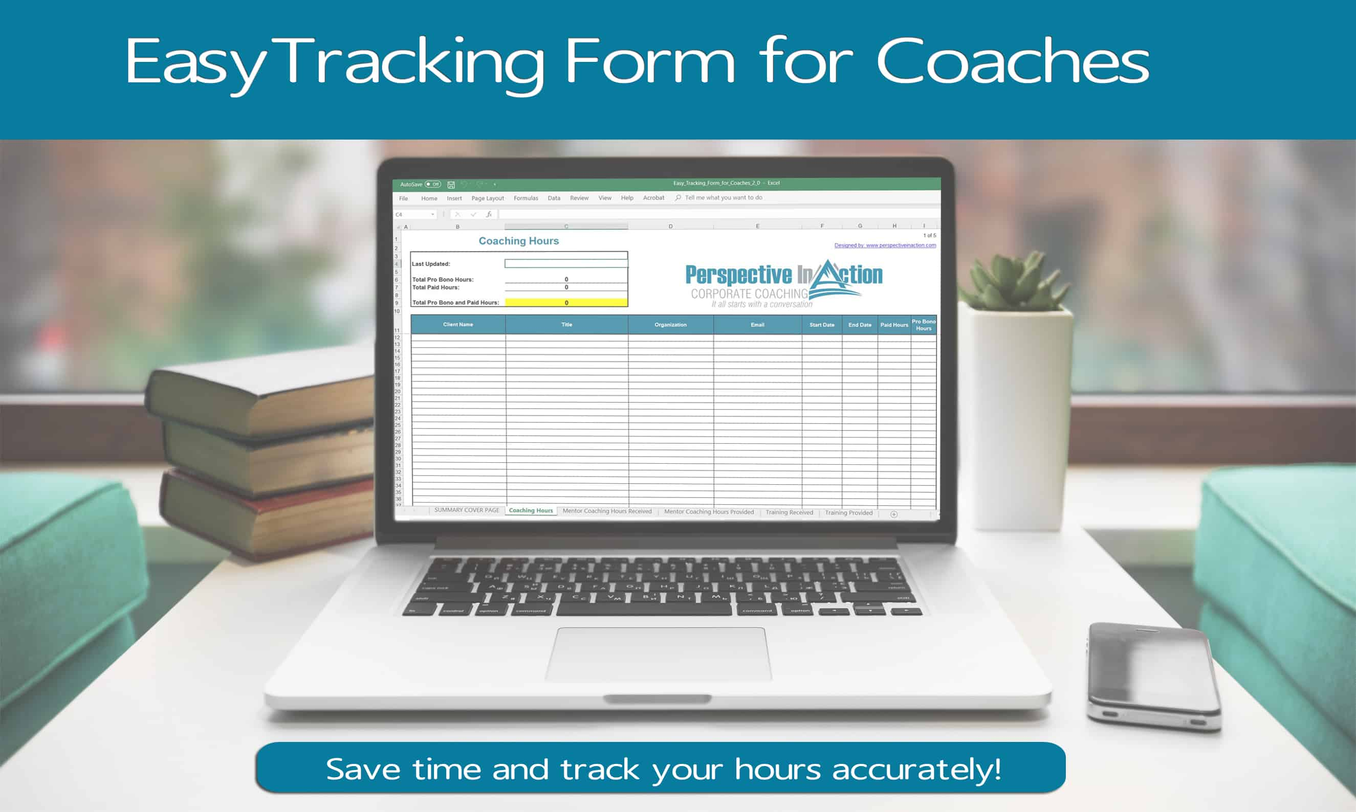 Free Easy Tracking Form for Coaches