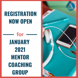January 2021 Mentor Coaching Group
