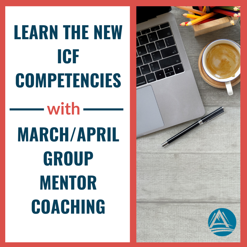 March April Group Mentor Coaching