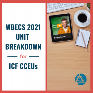 ICF CCE unit breakdown for WBECS 2021