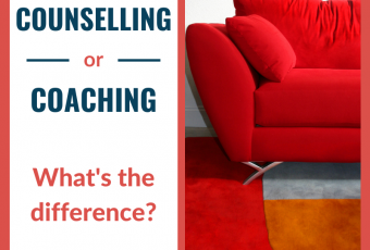 What's the difference between counselling and coaching